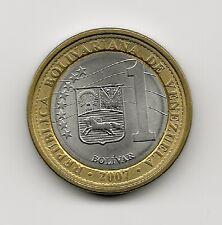 y93 Coin Venezuela 1 Bolívar 2007-09