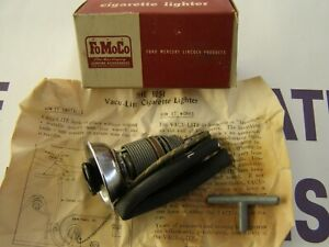 NOS OEM Ford Accessory 1951 Vac-u-lite Cigarette Lighter Custom Deluxe Victoria