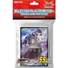 New Japan Yu-Gi-Oh ARC-V OCG Duelist Card Protector Yuto & Ruri 55 pcs