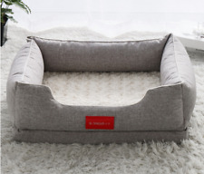 Cat and Dog Bed Cushion Sofa Bed Mat  Removable cover Free shipping (D133)