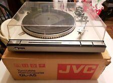 JVC QL-A5 Vintage Quartz-Locked Direct-Drive Turntable(1979-1980)w/ Original Box