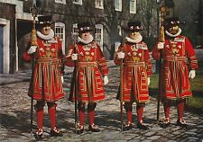 """*Postcard-""""Yeoman Warders at The Tower of London"""" (#155)"""