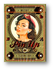 Military Pin Up Playing Cards Poker Spielkarten