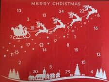 Unique Christmas Advent Calendar 24 Jewellery Charms Countdown to Christmas Gift