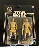 Star Wars Commemorative Edition Skywalker Saga Gold Obi-Wan & Anakin Set NEW! KK