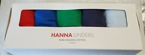 hanna Andersson New/Boxed Size 160 (xl) Hanna Unders Pure Organic Cotton