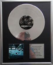 """Linkin Park - Meteora CD Cover + 12"""" Vinyl goldene / platin Schallplatte"""