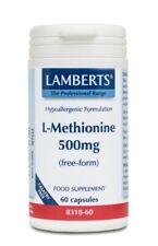 Lamberts L-Methionine 500mg, 60 capsules