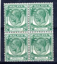 MALAYA - STRAITS   1936-37  SG 261   BLOCKS OF 4   mnh UM
