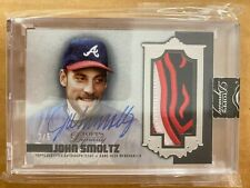 New listing 2019 Topps Dynasty John Smoltz Patch Auto #3/5 SSP Sweet Braves Game Used Relic