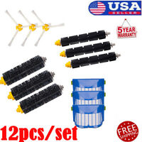 12PCS Replacement Kit Vacuum Parts for iRobot Roomba 600 Series 690 680 660 650