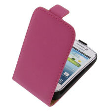 Funda para Samsung Galaxy Joven 2 Estilo Flip Móvil Tapa Rosa