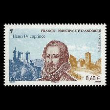 France 2012 - King Henri IV, 1553-1610 - Co-Prince of Andorra - Sc 4297 MNH