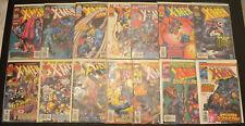 LOT / RUN (14) UNCANNY X-MEN #336 337 338 339 340 341-349 (1997, Marvel) NM+ 9.6