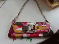 Guess Floral Authentic Shoulder/ Clutch Bag Free Postage