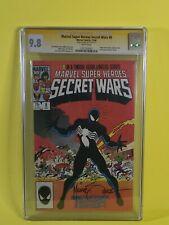 SECRET WARS #8 🕷 CGC SS 9.8 Mike Zeck MARVEL SUPER HEROES Spider-Man VENOM 🔑