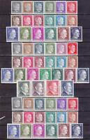 Nazi 3rd Reich 3 Complete MNH Hitler Sets*   59 Stamps.