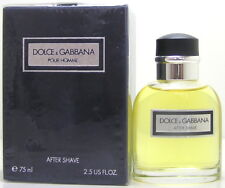 Dolce Gabbana pour Homme 75 ml After Shave old Version
