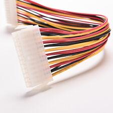 30cmATX 24broches mâle à femelle câble d'extension interne PC PSU TW Power LeadF
