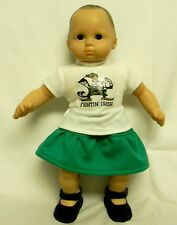 "Notre Dame ""Fightin' Irish"" Outfit For 16 Inch Doll"
