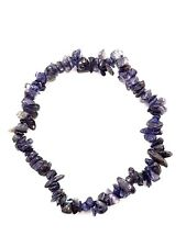 Gem Chip Bracelet Gemstone Lowlite Crystal Jewellery Reiki Charged