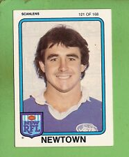 1981 NEWTOWN JETS SCANLENS RUGBY LEAGUE  CARD #121  CHRIS DOYLE