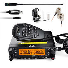 TYT TH7800 Dual Band Dual Display Repeater Car Truck  Ham two way Radio+Mic
