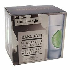 Luminarc Barcraft 2.25oz Straight Sided Clear Shot Glass - Set of 6 - NEW IN BOX