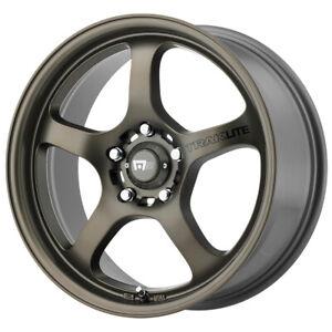 "Motegi MR131 18x8 5x4.5"" +45mm Bronze Wheel Rim 18"" Inch"