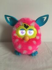 FURBY BOOM Pink White Spots 2012 HARDLY USED A4332 Polka Dot Electronic Retro