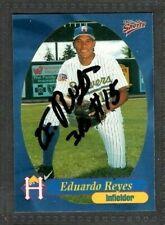 1999 Multi-Ad #11 Eduardo Reyes Helena Brewers Baseball Signed Autograph (B45)