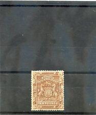 RHODESIA Sc 19(SG 13)**F-VF NH 1892 10PD BROWN, FEW NIBBED PERFS TOP, RARE $7500