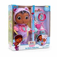 2019 DISNEY Doc McStuffins Get Better Baby Cece Doll Doctor Playset Sound *NEW*