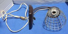 VINTAGE GENERAL ELECTRIC THERALUX INFRARED PORTABLE HEAT LAMP INDUSTRIAL STYLE