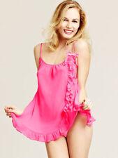 Knickerbox Lola Pink Chiffon Cami & Thong Set Sz 8 *Twenty Sets*