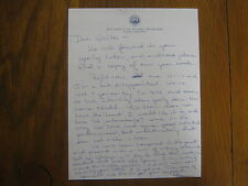 FRAN  BUCKLESS  Signed Personal Letter ALASKA-FAIRBANKS Women's Basketball Coach