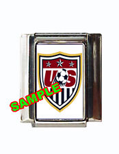USA Soccer Logo Custom Italian Charm World Cup!
