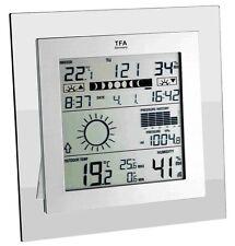 Station météo Carré Plus TFA 35.1121.it Baromètre météorologiques edel-design