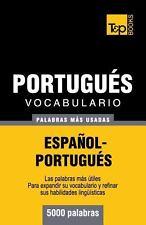 Vocabulario Español-Portugués - 5000 Palabras Más Usadas by Andrey Taranov...