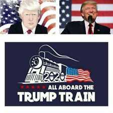 "5Pcs/Set Donald Trump Bumper Sticker "" 2020 All Aboard The Trump Train"""