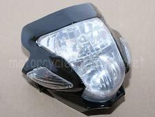 Stunt Streetfighter Black Headlight w/Signal For Suzuki Bandit 400 600 1200 GSF