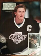 2 copies 1990 Sept #1 Beckett Hockey-Wayne Gretzky Los Angeles Kings First issue
