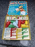 Very Rare Vintage 1950/60s Beetle Drive Family Game