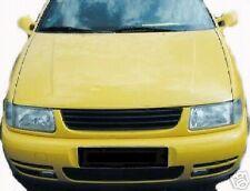 BLACK DEBADGED SPORTS BONNET GRILL FOR VW POLO 6N 10/1994 - 09/1999