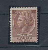 Italy 1956 100 Lire SG904 MNH J3457