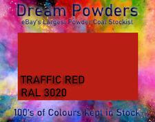 RAL3020 Traffic Red Powder Coat 1kg Coating Refurbishment Alloy Wheel