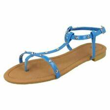Sandali e scarpe blu senza marca per il mare da donna