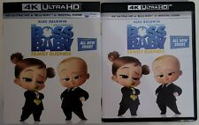 THE BOSS BABY: FAMILY BUSINESS 4K ULTRA HD BLU RAY 2 DISC SET + SLIPCOVER SLEEVE