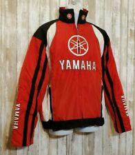 Vintage Yamaha Racing Jacket Windbreaker Red Embroidered Men's Size XL