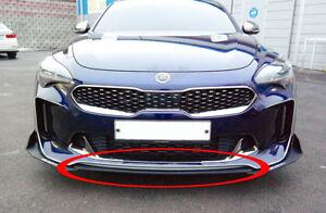 Morris Club Front Bumper Lip Canard Splitters Body Kit For Kia Stinger 18 2019+